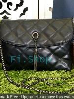 Zara กระเป๋าสะพายขนาดกะทัดรัดสีดำ
