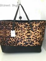 Mango : Leopard Print Shopper Bag