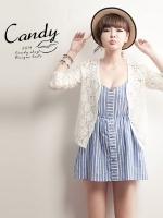 (Pre-order)เสื้อคลุมแฟชั่นเกาหลีสีแอทพิคอต