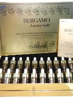 **หมดจ้า** Bergamo Luxury Gold Collagen&Caviar Wrinkle Ampoule (1 กล่อง)