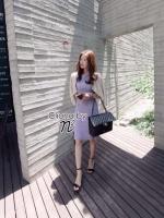 Cliona Made, Vevlet Pastel Lace Dress