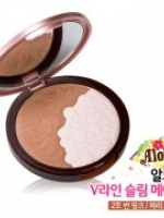 Etude House Aloha V Line Slim Maker # No.2 Cherry Brown โทนชมพู