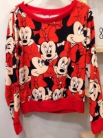 Minnie mouse red jumper