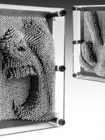3D Pin Art กรอบรูปตะปูสามมิติ