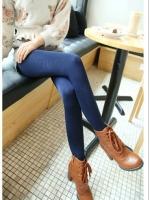 (Pre order)กางเกงเลคกิ้งสีน้ำเงิน