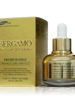 **หมดจ้า**Bergamo The Luxury Skin Science Premium Gold Wrinkle Care Ampoule 30 ml.