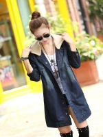 (Pre order )เสื้อโค๊ทยีนส์ สไตล์เกาหลี