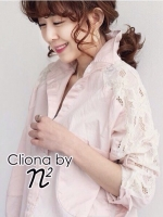 Cliona Made , Summer Lace Chick Shirt By Cliona