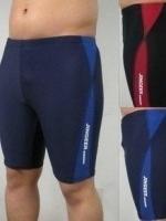 กางเกงว่ายน้ำชาย3ส่วน ( สีน้ำเงินไซส์ XL )