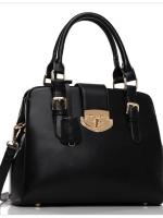 (Pre order)กระเป๋าถือและสะพาย Axixi สีดำ หนัง Pu สวยมากค่ะ