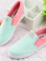 รองเท้าผ้าใบสีหวานน่ารักๆ