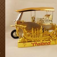 ของที่ระลึกไทย กล่องทอง