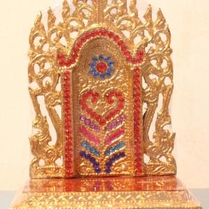 แท่นพระพม่า 6 นิ้ว (คริสตัล)