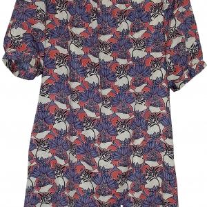 ขายแล้วค่ะ D49:Vintage dress เดรสวินเทจลายดอกไม้ Made in Korea &#x2764