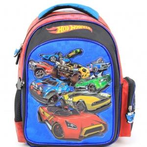 """กระเป๋าเป้ Hot Wheel สีน้ำเงิน-สีแดง 13"""""""