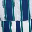 SET 2 ชิ้น เสื้อผ้าไซส์ใหญ่แขนล้ำผ้าชีฟองพิมพ์ลายทางน้ำเงินเขียว + กระโปรงผ้าชีฟองมีซับในเป็นกางเกง thumbnail 6