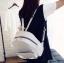 [ พร้อมส่ง ] - กระเป๋าเป้แฟชั่น Set 3 ชิ้น สุดคุ้ม สีดำคลาสสิค ตกแต่งน้องแมวน้อย ดีไซน์สวยเก๋ งานหนังคุณภาพอย่างดี น่าใช้มากค่ะ thumbnail 7