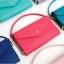 [ Pre-Order ] - กระเป๋าสตางค์แฟชั่น สไตล์เกาหลี สีเขียวมิ้นต์ ใบใหญ่(รุ่นใหม่หนังสวย) แต่งมงกุฎ งานหนังอัดลายสวยน่ารัก น่าใช้มากๆค่ะ thumbnail 6