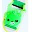 รองเท้าแตะเด็ก มีไฟส้นเท้า หมีสีเขียวบีบหัวมีเสียง Size 15-20 thumbnail 1