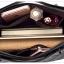 [ ลดราคา ] - กระเป๋าแฟชั่น ถือ&สะพาย สไตล์เกาหลี สีดำคลาสสิคเย็บตาราง สายหนัง ขนาดกระทัดรัด ดีไซน์สวยเรียบหรู เท่ๆดูดี เหมาะทุกโอกาสการใช้งาน thumbnail 22