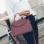 [ ลดราคา ] - กระเป๋าแฟชั่น ถือ&สะพาย สีไวน์แดงเข้ม ใบกลางๆ ดีไซน์สวยเท่เก๋ๆ งานหนังคุณภาพ เหมาะสำหรับสาวๆ Working Woman เท่ๆสุดๆน่าใช้ thumbnail 6