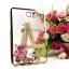 """เคส TPU ครอบหลัง ขอบสีไฮโซ ลายดอกไม้ Samsung S2 8 นิ้ว / Tab S2 VE 8"""" thumbnail 2"""