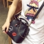 [ Pre-Order ] - กระเป๋าแฟชั่น ถือสะพาย สีดำ ทรง Retro สุดแนว ดีไซน์สวยเก๋ๆ เท่ๆ แอบเปรี้ยว ดูดี โดดเด่นไม่ซ้ำใคร thumbnail 10