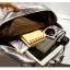 [ ลดราคา ] - กระเป๋าเป้แฟชั่น นำเข้าสไตล์เกาหลี สีดำเงา ปักหมุดสุดเท่ ดีไซน์สวยเก๋ไม่ซ้ำใคร เหมาะกับสาว ๆ ที่ชอบกระเป๋าเป้ น้ำหนักเบามากๆค่ะ thumbnail 25