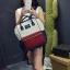 [ ลดราคา ] - กระเป๋าเป้แฟชั่น สไตล์เกาหลี สีทรีโทน ใบใหญ่จุของเยอะ ดีไซน์สไตล์แบรนด์สุดฮิต เหมาะกับสาว ๆ ที่ชอบกระเป๋าเป้ใบใหญ่ๆ แต่น้ำหนักเบา thumbnail 7