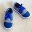 รองเท้าคัชชูผ้า แฟชั่นเด็กชาย สีน้ำเงิน Size 27-32 thumbnail 2