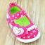 รองเท้าคัชชูเด็กหญิง สีชมพูสดใสน่ารัก มีเสียงเวลาเดิน Size 15-20 สำหรับเด็กวัย 1-2 ปี thumbnail 1