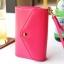 [ พร้อมส่ง ] - กระเป๋าสตางค์แฟชั่น สไตล์เกาหลี สีชมพูเข้ม ใบกลาง(รุ่นใหม่) แต่งมงกุฎ งานสวยน่ารัก น่าใช้มากๆค่ะ thumbnail 4