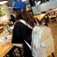 [ ลดราคา ] - กระเป๋าเป้แฟชั่น นำเข้าสไตล์เกาหลี สีดำเงา ปักหมุดสุดเท่ ดีไซน์สวยเก๋ไม่ซ้ำใคร เหมาะกับสาว ๆ ที่ชอบกระเป๋าเป้ น้ำหนักเบามากๆค่ะ thumbnail 13