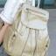 [ ลดราคา ] - กระเป๋าเป้แฟชั่น นำเข้าสไตล์เกาหลี สีทองโดดเด่น สุดเก๋ ดีไซน์สวยเก๋ไม่ซ้ำใคร สวยสุดมั่น เหมาะกับสาว ๆ ที่ชอบกระเป๋าเป้ใบกลางค่ะ thumbnail 7