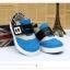 รองเท้าคัชชูผ้าเด็กเท่ห์ๆ B.boy ดาวธงอเมริกา สีฟ้าเทาดำ Size 21-32 thumbnail 6