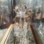 """ของที่ระลึกไทย แก้วเป่าทองตู้กระจกลวดลายมังกร ขนาด 3"""" 4"""" 6"""" 8"""" 11"""" 12"""" 16"""" 18"""" 24"""" thumbnail 7"""