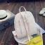 [ พร้อมส่ง ] - กระเป๋าเป้แฟชั่น Set 3 ชิ้น สุดคุ้ม สีดำคลาสสิค ตกแต่งน้องแมวน้อย ดีไซน์สวยเก๋ งานหนังคุณภาพอย่างดี น่าใช้มากค่ะ thumbnail 12