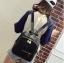 [ พร้อมส่ง HI-End ] - กระเป๋าเป้แฟชั่น สไตล์เกาหลี สีดำคลาสสิค ปักหมุดข้างสุดเก๋ ดีไซน์สวยเท่ๆ งานผ้าร่มไนลอนอย่างดี น้ำหนักเบา น่าใช้มากๆค่ะ thumbnail 7