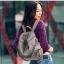 [ พร้อมส่ง Hi-End ] - กระเป๋าเป้แฟชั่น นำเข้าสไตล์เกาหลี สีเทาคลาสสิค สุดเท่ ดีไซน์สวยเก๋ไม่ซ้ำใคร สวยสุดมั่น เหมาะกับสาว ๆ ที่ชอบกระเป๋าเป้และสะพายได้ งานเนี้ยบสวยมากค่ะ thumbnail 2