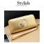 [ พร้อมส่ง ] - กระเป๋าสตางค์แฟชั่น สไตล์เกาหลี สีบรอนซ์ทอง ใบยาว หนัง Saffiano แต่งโลโก้ สไตล์แบรนด์ดัง งานสวยโดดเด่น น่าใช้มากๆค่ะ thumbnail 10