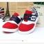รองเท้าคัชชูกีฬาเด็กเท่ห์ๆ B.boy ดาวธงอเมริกา สีแดงขาวกรม Size 21-32 thumbnail 3