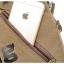 [ พร้อมส่ง ] - กระเป๋าแฟชั่น ผู้ชาย ผู้หญิงใช้ได้ สะพายข้าง สีกากี ทรงกระบอก ช่องใส่ของเยอะ Canvas+Nylon คุณภาพ ตัดเย็บอย่างดี thumbnail 13