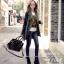 [ พร้อมส่ง Hi-End ] - กระเป๋าแฟชั่น นำเข้าสไตล์ยุโรป สีดำคลาสลิค ดีไซน์แบรนด์ดัง ทรงตั้งอยู่ทรงได้ แบบสวยเรียบหรู เหมาะสำหรับทุกโอกาสการใช้งาน สาวๆ Workking Woman ห้ามพลาด thumbnail 6