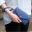[ Pre-Order ] - กระเป๋าสตางค์แฟชั่น สไตล์เกาหลี สีน้ำเงินเข้ม ใบใหญ่(รุ่นใหม่หนังสวย) แต่งมงกุฎ งานหนังอัดลายสวยน่ารัก น่าใช้มากๆค่ะ thumbnail 5