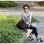 [ ลดราคา ] - กระเป๋าแฟชั่น นำเข้าสไตล์เกาหลี สีดำ ดีไซน์เก๋ไม่ซ้ำแบบใคร สาวๆชอบกระเป๋าสะพายเท่ๆ ห้ามพลาดใบนี้ thumbnail 14