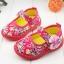 รองเท้าคัชชูผ้าหุ้มส้นเด็กหญิง ลายกุหลาบ สีฟ้า/ชมพู Size 16- 21 thumbnail 9