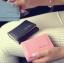 [ พร้อมส่ง ] - กระเป๋าสตางค์แฟชั่น สไตล์เกาหลี ใบเล็ก หนังนิ่มน้ำหนักเบา พกพาสะดวก แบบ 3 พับ กระดุมปิด thumbnail 3