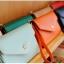 [ พร้อมส่ง ] - กระเป๋าสตางค์แฟชั่น สไตล์เกาหลี สีชมพูเข้ม ใบเล็ก แต่งมงกุฎ งานสวยน่ารัก น่าใช้มากๆค่ะ thumbnail 5