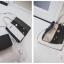 [ ลดราคา ] - กระเป๋าแฟชั่น Set 2 ชิ้น ถือ&สะพาย สีทรีโทนขาวเทาดำ ใบกลางๆ ดีไซน์สวยเก๋ ปรับใช้งานได้หลายสไตล์ thumbnail 27
