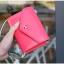[ พร้อมส่ง ] - กระเป๋าสตางค์แฟชั่น สไตล์เกาหลี สีชมพูเข้ม ใบเล็ก แต่งมงกุฎ งานสวยน่ารัก น่าใช้มากๆค่ะ thumbnail 1